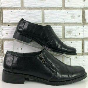 Aerosoles Fast Ride 11M Black Dress Loafers